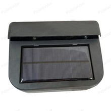 New car ventilation fan Solar Sun Power Car Window Fan Auto Ventilator Cooler Air Vehicle Radiator solar power car fan