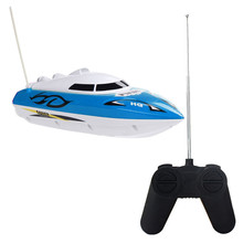 Buy New Fashion 10 inch RC Boat Radio Remote Control RTR Electric Dual Motor Toy Birthday Gift Children Toys Wholesale for $13.34 in AliExpress store