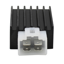 4 Pins Voltage Regulator Rectifier 4-Prong 50cc 70cc 90cc 110cc 125cc 150cc Chinese Scooter ATV Moped 12V Free Shipping
