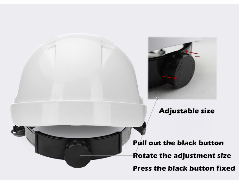 Safety Helmet Hard Hat Work Cap ABS Material Construction Protect Helmets High Quality Breathable Engineering Power Labor Helmet (14)