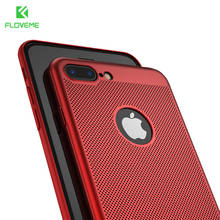 FLOVEME Case For iPhone 7 6 6S Plus 5S 5 SE Case Breathe Freely For iPhone 7 7 Plus X Heat Resistant Phone Accessories Capa(China)