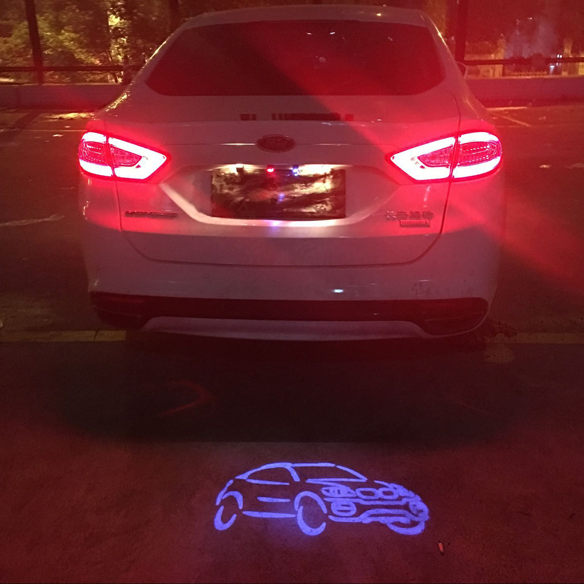 Car Tail Led Light Anti Collision Rear-end Fog Lamp Rearing Warning for Chevrolet Cruze Malibu Epica Aveo Sail Captiva with Logo<br><br>Aliexpress
