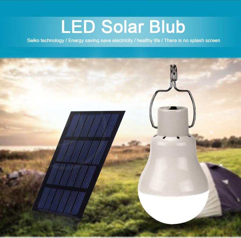 مصباح يعمل على الطاقة الشمسية 1