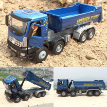 Engineering vehicles,High simulation 1:50 scale alloy Dump truck model,Engineering car, transport,free shipping