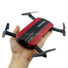 JXD523 Tracker Foldable Pocket Quadcopter Mini Selfie JXD 523 Drone Altitude Hold FPV WIFI Camera RC Helicopter Headless VS H37