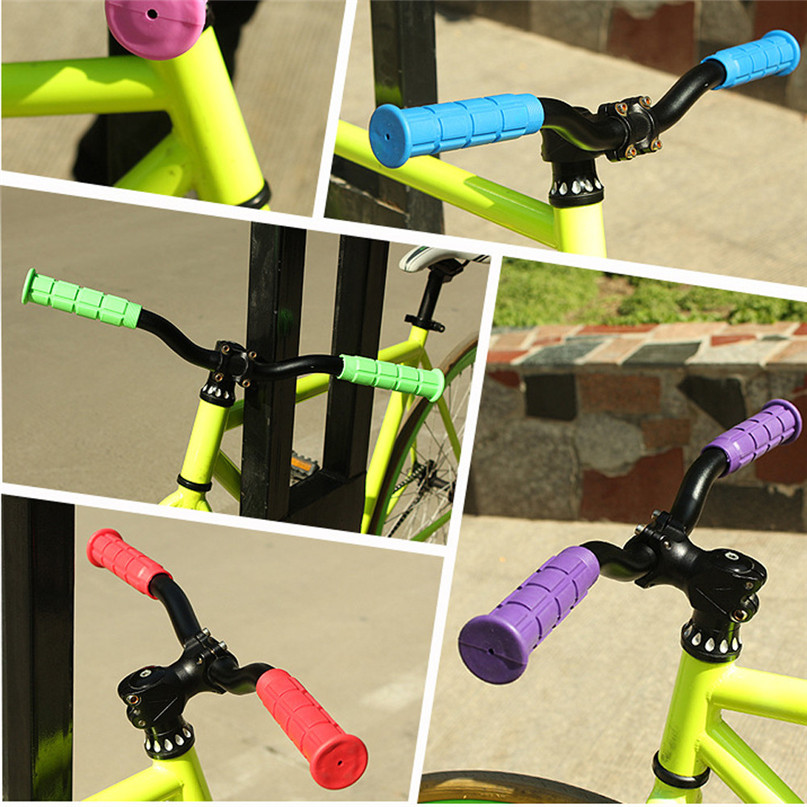 Hot BMX MTB Bike Mountain Bicycle Handle Handlebar Soft Rubber Bar End Grips