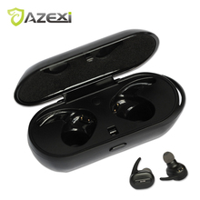Azexi Air50 True Wireless Stereo Bluetooth Earphone Twins sports Headset Bluetooth Earbud For Huawei Apple Samsung Xiaomi(China)