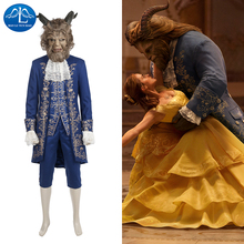 MANLUYUNXIAO New Beauty and the Beast Cosplay Costume Beast Costume Halloween Cosplay Costume For Women Custom Made High Quality