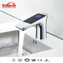 2016 LCD Touch Intelligent Thermostat Faucets Electronic Basin Taps Mixer F600S