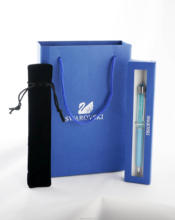 Wedding Gift swarovski  Pen with brand retail box case gift handbag velvetpouch  swarovski elements crystal pen Free Shipping