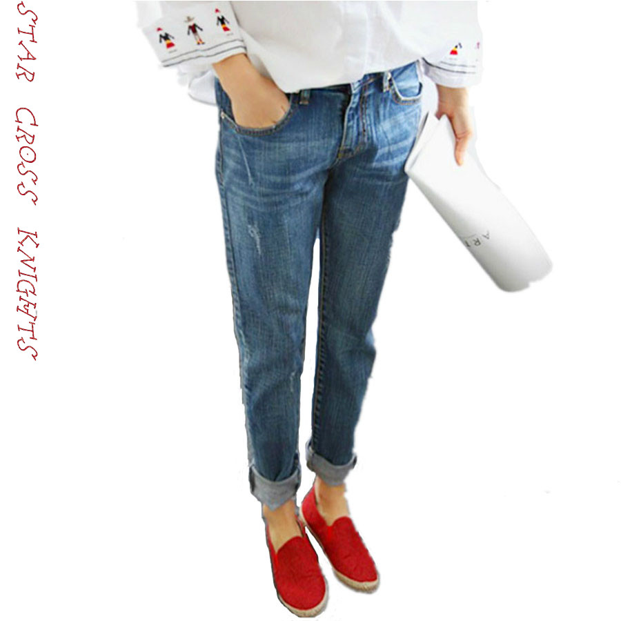 2017 New Fashion Autumn Style Women Jeans Elastic Harem Denim Pants Jeans Slim Vintage Boyfriend Jeans for Women Female TrousersÎäåæäà è àêñåññóàðû<br><br>