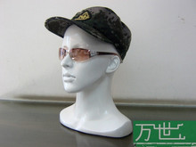 Free Shipping!! Top Level Mannequin Fiberglass Head Manikin Female Head Mannequin Fashionable