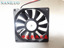NANILUO Free Shipping!! the United States Peiya 8015 12V 8CM cooling fan 3106KL-04W-B59(China)