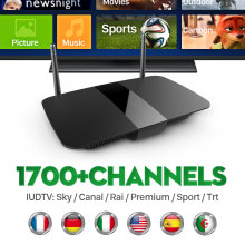 Android Smart Tv Box With Free IPTV Live European Canal Plus French Channels Arabic Turkish Sweden Netherlands Spanish Top Box