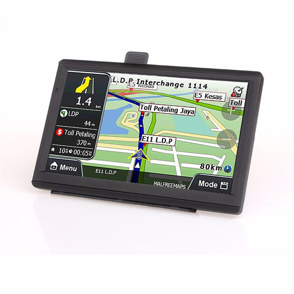 Junsun Windows CE 6.0 actualizaci/ón de mapas gratuita Navegador GPS con pantalla HD de 7/pulgadas 8/GB de memoria