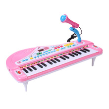 37 Keys Musical Key Board Toy Piano With MP3 USB Play Microphone Digital Music Electronic Keyboard Piano Toys For Children