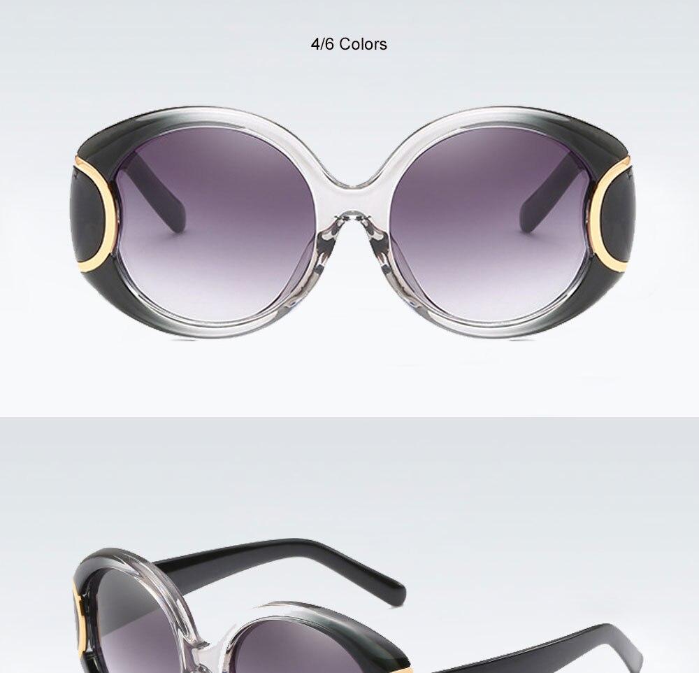 VEGA Eyewear Fashion Oval Sunglasses Women for Big Face Ladies Oversized Glasses with  ( (8)