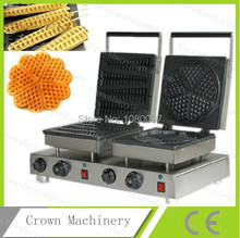 Lolly&Heart shape industry Waffle maker machine(China)