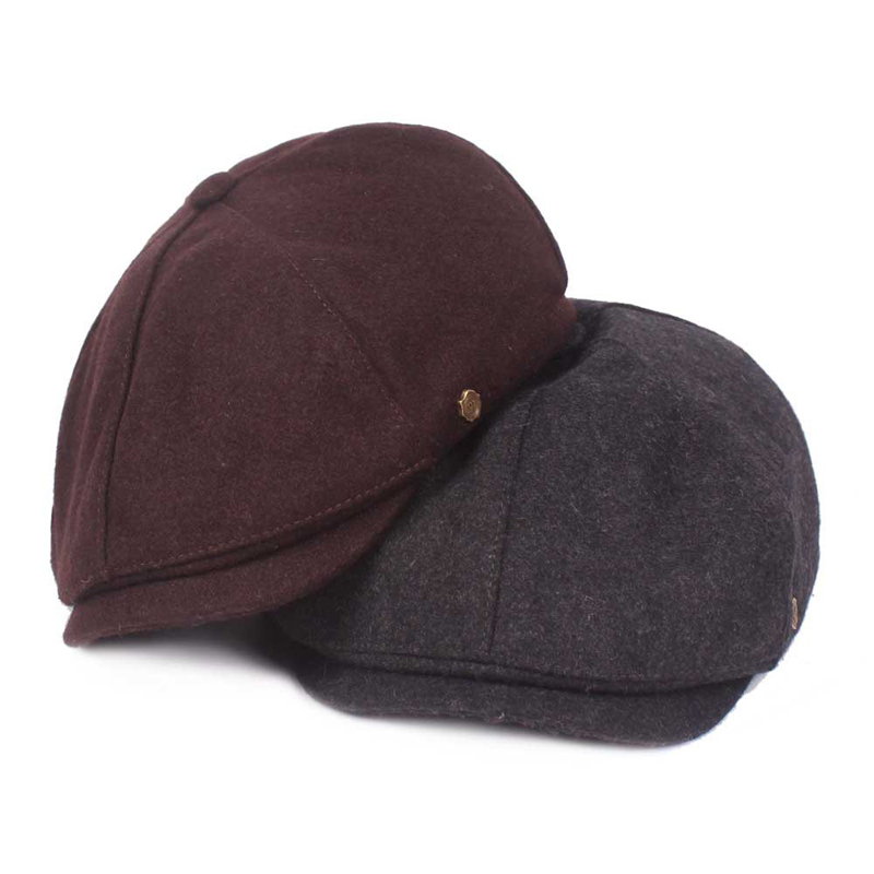 Tweed Flat Cap Patch Work by G/&H Hats