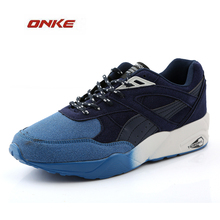 Men's Sport Running shoes Men's Sneakers Breathable Mesh Outdoor Athletic Shoe Light Male Shoe Size EU 39-46 Wholesale Price(China)
