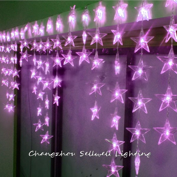 2017 Artificial Christmas Tree Christmas Decorations New!led Holiday Bulb Door Curtain Showcase Decoration 0.7*4m Led Lamp H281 <br>