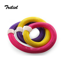 Free Shipping New Style Spring Hula Hoop Healthy Care Waist Support Exercise Best Weighted Exercise Diet Fitness Equipment