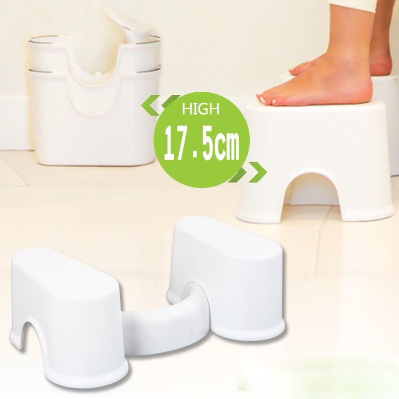 2017no slip toilet foot stool potty stool squat stool Crouch hole artifact Squat toilet stool SMALL SIZE FOR KID<br>