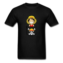 Personalized Streetwear Male Cheeky Pirate! T Shirts Customized Short Sleeve Knit Cotton Fabric Awesome Shirts for Men