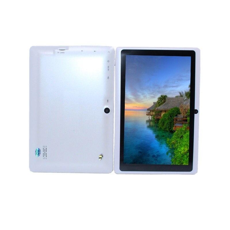 Tablet 7 inch tablet Quad Core Q88 Allwinner A33 tablet pc Android 4.4 512MB/8GB 1024*600 2800mAh wifi flashlight big discount