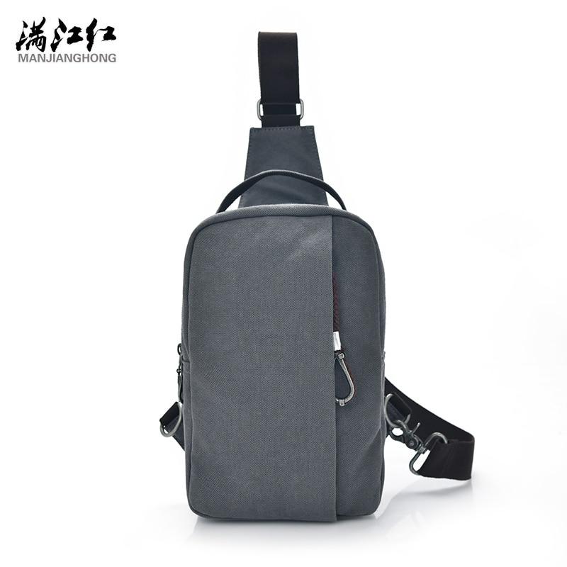 Manjianghong Army green/Blue black/Gray/Khaki Fashion Bag Casual Canvas Man Bag Chest bag Portable Packet Crossbody Bag 1370<br><br>Aliexpress