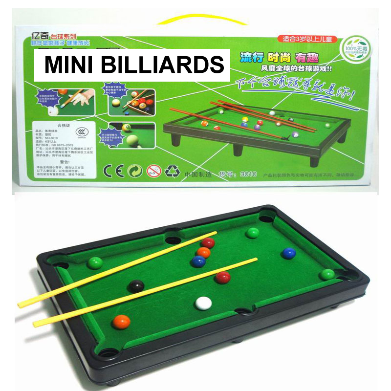 Removable Assembly Multifunction Mini Billiards Sports Set Toys Child Adult Indoor&Outdoor Toy Educational Fitness Kid Toys Gift(China)