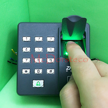 Free Shipping Fingerprint access control machine with keypad fingerprint scanner for RFID door access control system X6(China)