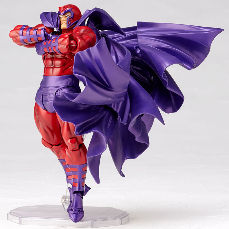 FIGMA Series NO.006 Magneto Figure NO.006 Revoltech Magneto PVC Action Figures e Collection Model Toy Doll Gift (3)