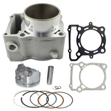 Motorcycle Engine Parts For KAWASAKI KLX250 1993-2014 KLX300 1996-2007 Air Cylinder Block & Piston Kit & Head & Base Gasket Kit
