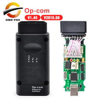 OPCOM Free Technician Support v2010 OP-COM OPCOM Auto Scanner professional for opel diagnostic tool free shipping