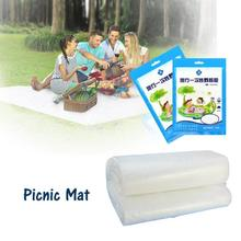 Waterproof Cleaning Disposable Picnic Mat Outdoor Sand Grass Campground Mat Family Travel Clean Novelty Camping #35(China)