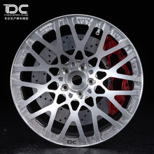 DC FOR 1/10 RC DRIFT CAR ALLOY WHEEL HUB - BLQ TYPE - 4PCS/SET 90184