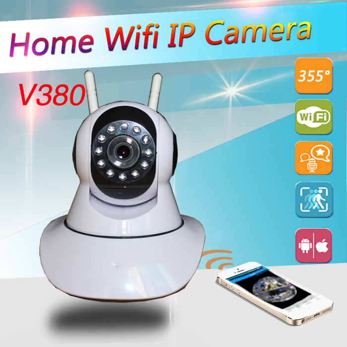 Network Security Video Camera P2P Wifi IR-Cut IP Camera 2 Ways Audio Wireless CCTV Surveillance Camera 720P Baby Monitor<br>