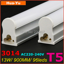 30pcs,900mm T5 led tube light, AC220-240V 13W led t5,SMD3014 1200lm Top quality Epistar Chip CE & ROHS Cold white/Warm white