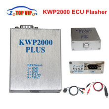 2pcs/lot KWP2000 Plus OBDII OBD2 ECU Chip Tuning Tool KWP2000 ECU Plus Flasher Smart Remapping Decoder(China)