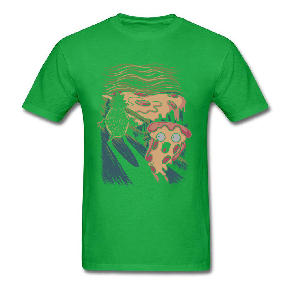 Pizza Nightmare Special Young Tshirts O-Neck Short Sleeve Cotton Fabric Tops T Shirt Casual Tops & Tees Drop Shipping Pizza Nightmare green