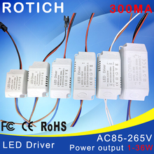 High Quality 1W 7W 12W 18W 24W 36W Power Supply LED Driver Adapter Transformer Switch For LED Strip LED Lights(China)