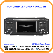 4.3'' Touch Screen Car DVD GPS Radio Player Bluetooth RDS Rearview support Car stereo player for CHRYSLER Grand Voyager