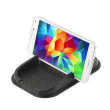 Black Rubber Anti-slip Mat Car Dashboard Non-slip Mat Magic Sticky Pad holder for iPhone for Samsung Phone PDA MP4 New