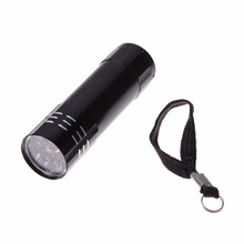 Brand New Portable Black 9 LEDs Flash Ultra Bright light Torch Low Power Consumption Visible Over a Long Distance