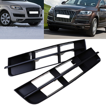 2 Pcs Auto Parts Brand New Car Front Bumper Fog Lights Hood Grill Grille Cover For Audi Q7 2009-2012 Replacement Car-Styling