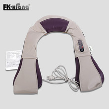 Tapping Massage Shawl. Neck Shoulder Massage Beat Cape Chinese Massage Body Instrument Health Care Machine Vibration Belt(China)