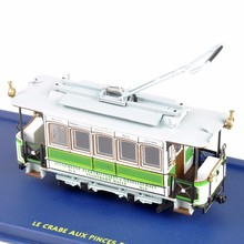 1/87 Tram Truck Toys Motrice N 13 (CGFT)-1907 Trolley bus Toy LE CRABE AUX PINCES D'OR 1:87 Tram Diecast Car Model(China)