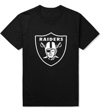 Raiders T-shirt Original Famous Brand Casual Man's Clothes Tops Designer Tee Short sleeve tshirt 2017 Famous Summer Men t shirts