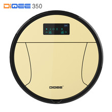 DIQEE 350 Smart Robot Vacuum Cleaner For Home Cyclone Sweeping Dust Sterilize Gyro Navigation Planned Water Tank Mop Filter(China)